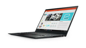 "Lenovo ThinkPad X1 Carbon 14"" WQHD Laptop i7-7600U 16GB 1TB NVMe SSD Win10 Pro"
