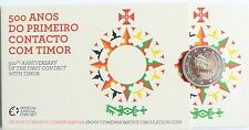 2 Euro commémorative de Portugal 2015 Belle Epreuve (BE) - Contact avec le Timor