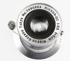 Nikkor Q.C 5cm f3.5 Coll. Leica SM  #7052624