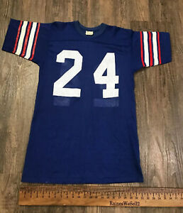 VTG Rare Felco New York USA Buffalo Bills NFL #24 Football 1960s Jersey Sz Large