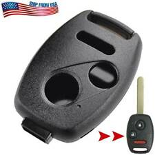 Car Key Case Remote Fob Replacement Shell For Honda Odyssey Crv Pilot Civic