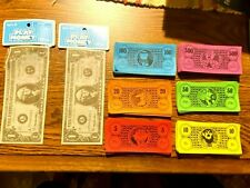 Play Money - 2 pkgs. of 10 each + 150 pieces for games