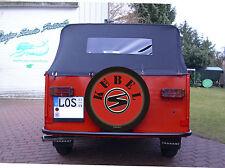 Bezug TRABANT Kübel -  auch eigener Text  Auto Feuerwehr Reserverad Reifencover