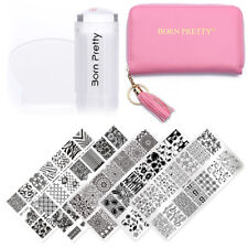 BORN PRETTY Nail Art Stamp Image Plate Stencil Template Disco DIY Design