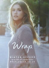 WRAP CLOTHING CATALOGUE WINTER OFFERS 2013