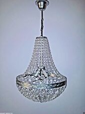 Moooi Molch D47 Silver Ceiling Crystal Chandelier Light Pendant Lamp Brand New