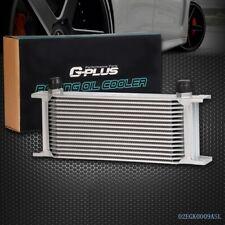 16 Row Universal Aluminum Engine Transmission AN-10 Oil Cooler Kit