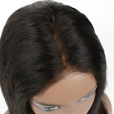 """50% OFF Bleached Knots Frontal Lace Wig 14"""" Unprocessed Natural Color Straight"""