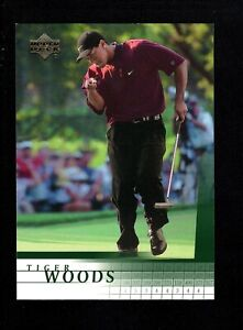 2001 Upper Deck Golf #1 Tiger Woods RC Rookie NM-MT 2218