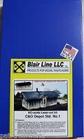 Blair Line HO/HOn3 C&O Depot (185)