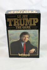 Le Jeu Trump The Game - French Import RARE - 1989 Milton Bradley - Complete 4915