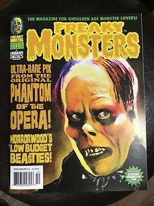 Freaky Monsters Magazine Issue #15...Famous Monsters Type Magazine