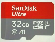 SanDisk NEW 32GB Ultra A1 Micro SDHC/SDXC Card 98MB/s UHS-I C10 98MB/sec