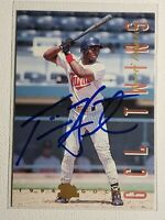 1994 Classic Best Gold Torii Hunter Pre-RC Auto Autograph Signed Card Twins #80