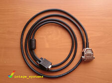 AMIGA ADAPTER CABLE 2.5m 8ft  RGB VIDEO DB23 D-Sub to SVGA VGA  SHIELDED