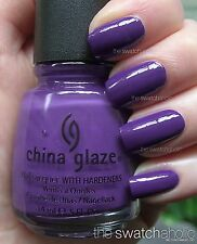 China Glaze Nail Polish    grape pop  91