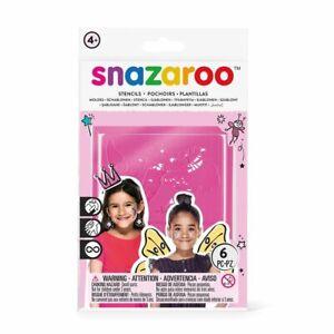 Snazaroo Face Painting Stencils Set - Fantasy