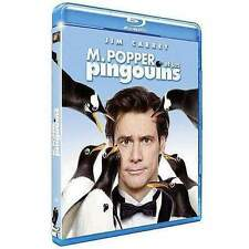 Blu Ray : M Popper et ses pingouins - Jim Carrey - NEUF
