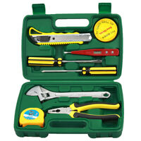 9PCS Small Tool Kit,Mini Portable Tool Set,Home Repair Hand Tool Kit with NEW~