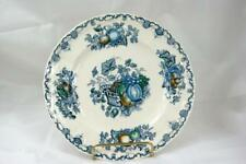 Masons Fruit Basket Blue Salad Plate #C4892