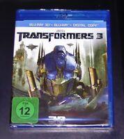 Transformers 3 Scuro Of The Moon 3D blu ray+ ray Veloce Nuovo e Confezione