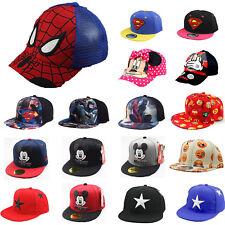Kinder Jungen Mädchen Cappy Baseball Cap Basecap Kappe Snapback Sonnenhut Hut