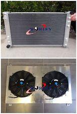 Aluminum Radiator+Shroud+Fans for Holden VT VX VU HSV Commodore V8 GEN3 LS1 5.7