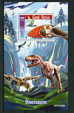 Guinea-Bissau 2015 MNH Dinosaurs 1v S/S Pterodactylus Megalosaurus Stamps