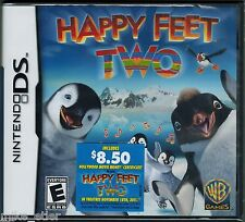 Happy Feet Two (Nintendo DS, 2011) Factory Sealed