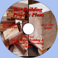 PREMIUM BOX BUILDING PROJECTS AND PLANS   PLUS BONUS SHOP PROJECTS ON ONE CD