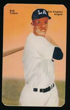 1952 Mother's Cookies (PCL) -#16 BOB TALBOT (Los Angeles Angels) -Tough SP