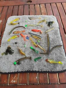 Bundle of soft bait fishing lures