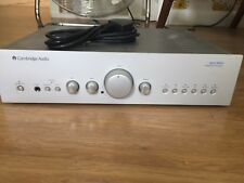 Cambridge Audio Amplifier Azur 640A Silver with Remote Control Great Condition
