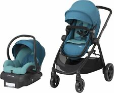 Maxi-Cosi Zelia Baby Stroller Travel System with Car Seat - Emerald Tide