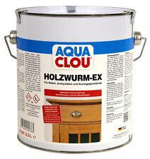 Clou Holzwurm Ex 2,5L Holzschutz Anti Insekt gegen Holzwürmer