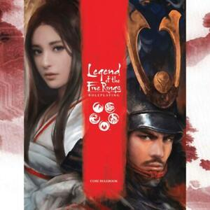 Legend Of The Five Rings 5th Edition (RPG) Core Rulebook L5R Roleplaying Game