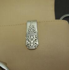 Key Ring Purse Hook #K1 Unique Silver Plated Silverware/Flatware Spoon