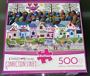 NEW SEALED Charles Wysocki Confection Street 500 Piece Jigsaw Puzzle artwork art