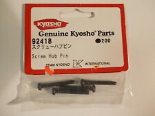 92418 Outer Susp Screw Hub Pin Set - Kyosho Pure Ten Spider GP10 Nostalgic TF-2