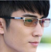 Men's Photochromic Reading Glasses Readers +1.0 to +4.0 UV400 Sunglasses Goggles