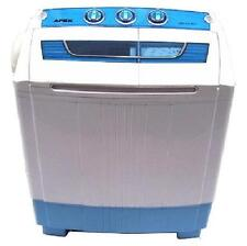 PORTABLE COMPACT TWIN MINI WASHING MACHINE 5.2kg SPIN DRYER with DRAIN PUMP