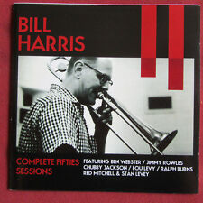 BILL HARRIS 2CDS  COMPLETE FIFTIES SESSIONS