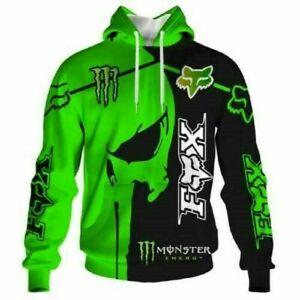 men hoodie Hooded sweater print motorcycle sweatshirt Hooded sweater