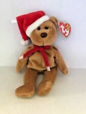 Ty Beanie Baby 1997 Holiday Teddy Bear (1996) - Style# 4200 - ERRORS!