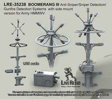 Live Resin 35238 1/35 Boomerang III Anti-Sniper/Gunfire Detection Systems (2)