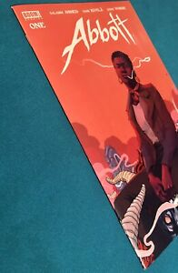 ABBOTT #1 (BOOM! STDIOS 2018) NM 1st PRINT COVER A • OPTIONED FOR TV SHOW CBS
