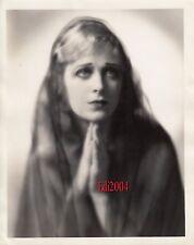 DOLORES COSTELLO Vintage Original Photo '20s Silent Veiled Elegance Portrait