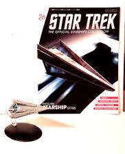 #26 Star Trek Tholian Starship DieCast Metal Ship-UK/Eaglemoss w Mag-FREE S&H