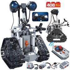408Pc City Creative Rc Robot Electric Building Blocks Remote Control kids Toy
