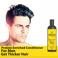 VIRGIN FOR MEN HAIRLOSS CONDITIONER ANTI BALDING STOP HAIR THINNING INSTANTLY!